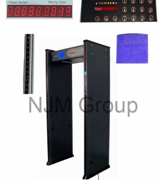 Metal detector w/ lcd.