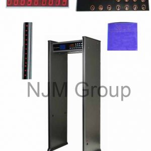 This metal detector is one of our security technology products.